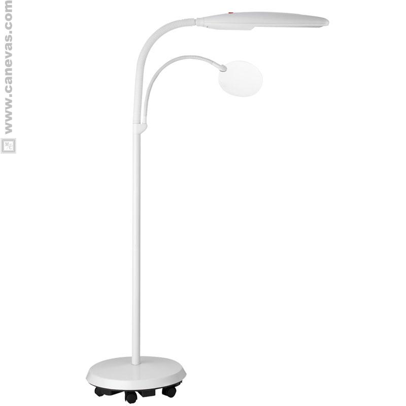 Lampe de travail sur pied a roulettes - Daylight