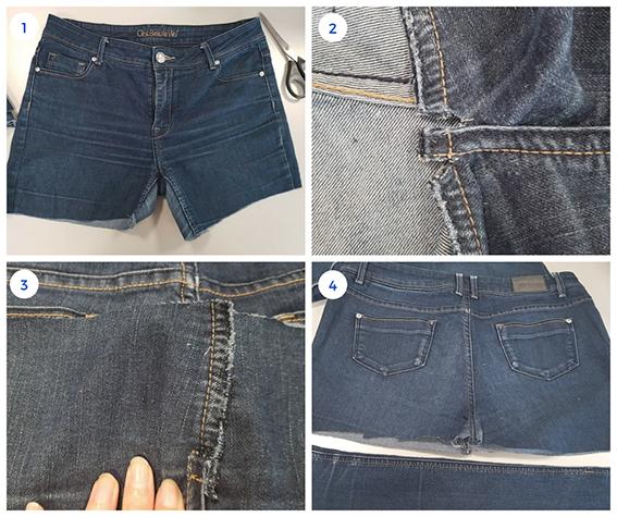 Etape 1 : la base du jean